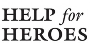 Help for Heroes logo and font