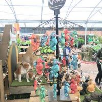 Vivid Hanging Petpals on stand June 18 (2)