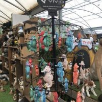 Vivid Hanging Petpals on stand June 18 (3)